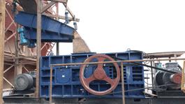 大产量制砂破碎机生产线