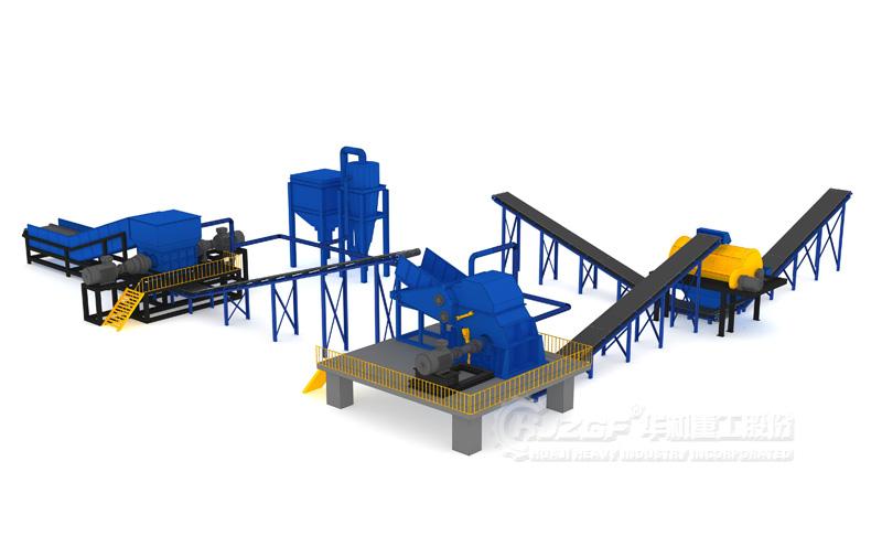 废钢生产线