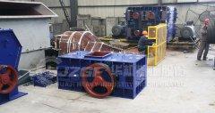 花岗岩制砂机-辊式破碎机应用花岗岩加工厂家