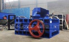 每小时能加工150吨石料的双辊破碎机价格是多少?